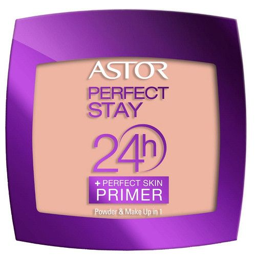 Astor Pudrový make-up 2 v 1 Perfect Stay 24H (Make-Up 1 Powder perfect skin Primer) 7 g (Odstín 102 Golden