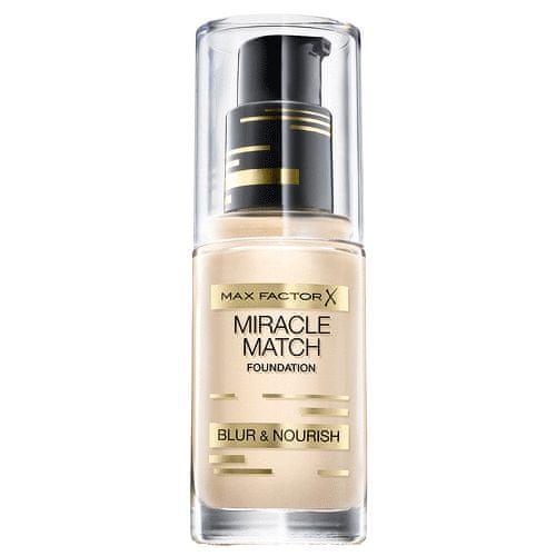 Max Factor Zkrášlující make-up Nové Generace (Miracle Match Foundation) (Odstín 80 Bronze)
