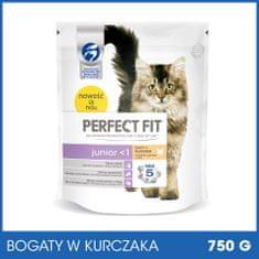 Perfect fit sucha karma dla kota Junior Bogaty w kurczaka 750g