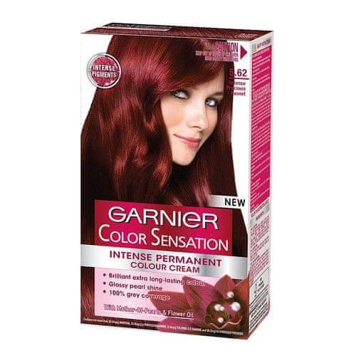 Garnier Přírodní šetrná barva Color Sensational (Odstín 4.0 Středně hnědá)