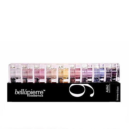 Bellapierre Sada multifunkčních kosmetických prášků (Stack Shimmer Powders) (Odstín Serenity)