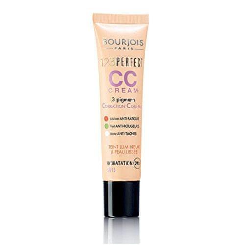 Bourjois Pleťový CC krém (Make-up 123 Perfect CC Cream) 30 ml (Odstín 34 Hale)