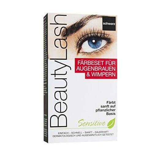 BeautyLash Barva na řasy a obočí Sensitive Set (Odstín Černá)