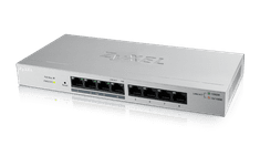 Zyxel ZyXEL 8xGb 4xPOE fanless desktop switch GS1200-8HP