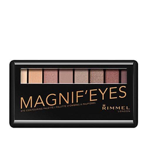 Rimmel Paleta očních stínů MagnifEyes (Eyeshadow Palette) (Odstín 003 Grunge Glamour)