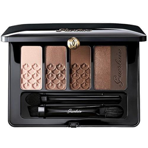 Guerlain Luxusní paletka očních stínů (Palette 5 Couleurs) 6 g (Odstín 04 L'Heure De Nuit)