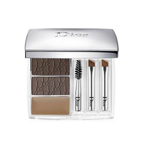 Dior Luxusní paletka na úpravu obočí All-In-Brow (3D Long Wear Brow Contour Kit) 7,5 g