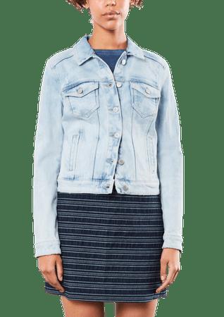 s.Oliver női kabát M kék