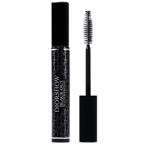 Dior Voděodolná objemová řasenka Diorshow Black Out Waterproof (Spectacular Volume Intense Black-Kohl Mas