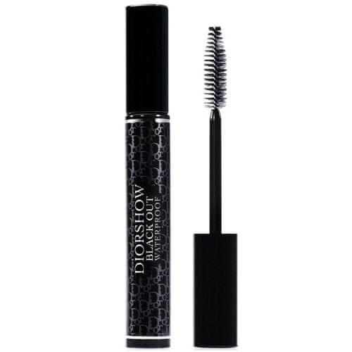 Dior Voděodolná objemová řasenka Diorshow Black Out Waterproof (Spectacular Volume Intense Black-Kohl Mas