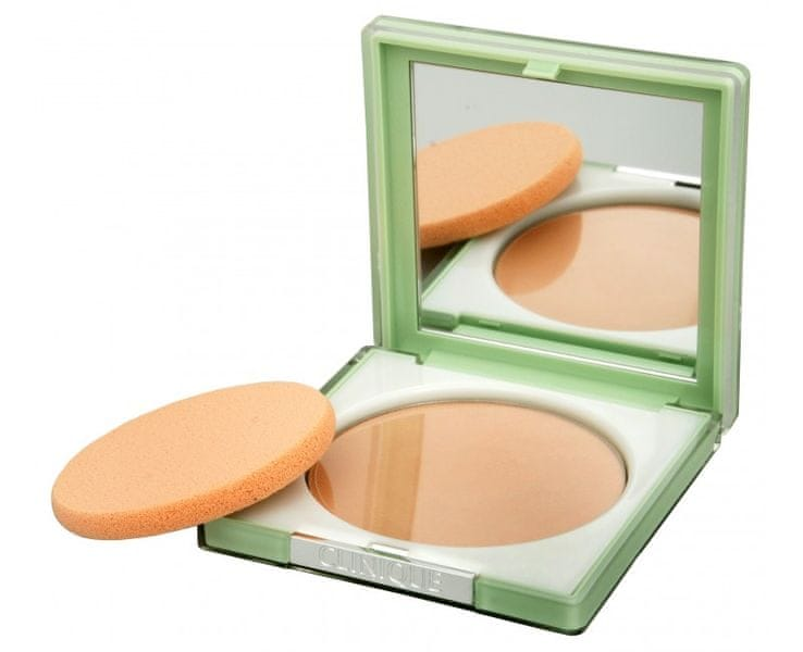 Clinique Kompaktní pudr pro dlouhotrvající matný vzhled (Stay-Matte Sheer Pressed Powder) 7,6 g (Odstín 02 St