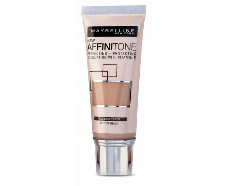 Maybelline Sjednocující make-up s HD pigmenty Affinitone (Perfecting + Protecting Foundation With Vitamin E) 30
