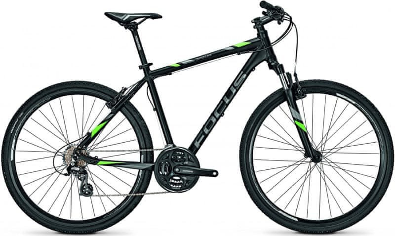 "Focus 28"" DI Crater Lake Elite 21G Magicblackmatt/Green 50/M (19,7"")"