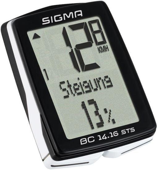 Sigma BC 14.16 STS Kerékpár computer