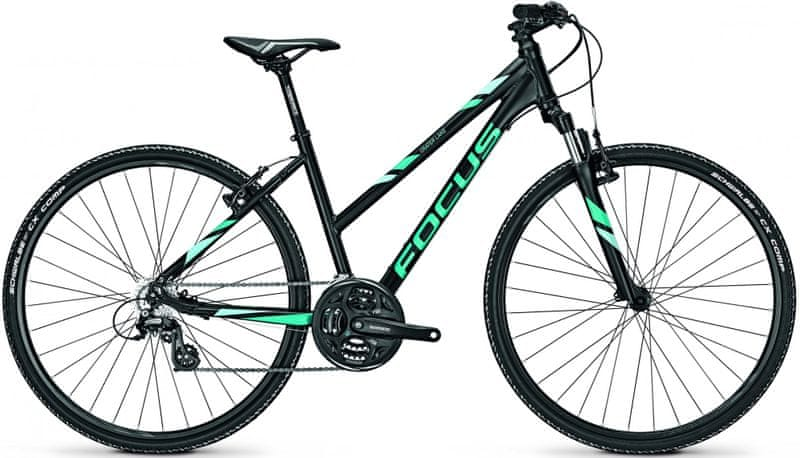 "Focus 28"" TR Crater Lake Elite 21G Magicblackmatt/Blue 50/M (19,7"")"