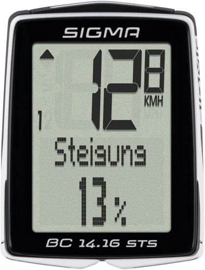 Sigma BC 14.16 STS/CAD Kerékpár computer