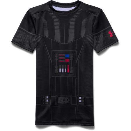 Under Armour otroška majica Darth Vader HG SS, črna, M