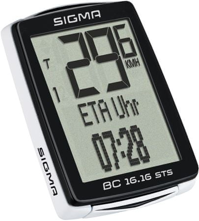 Sigma Licznik rowerowy Sigma BC 16.16 STS