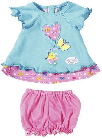 BABY born Kék ruha pillangóval