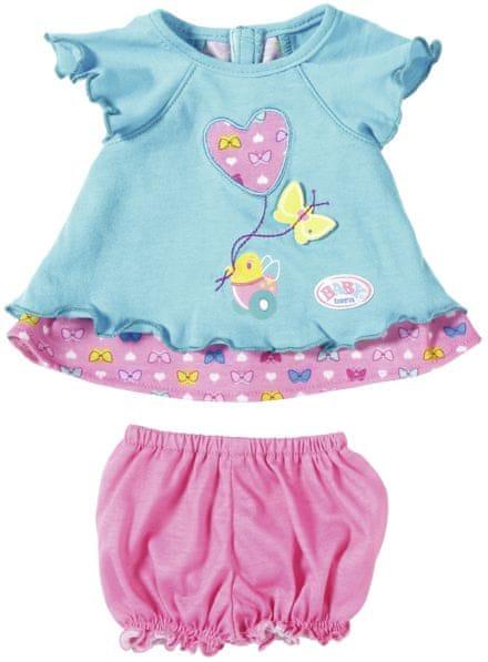 BABY born Modré šatičky s motýlkem