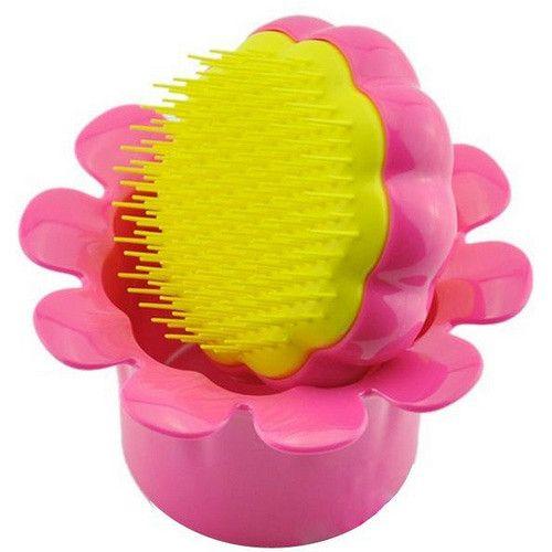 Tangle Teezer Dětský profesionální kartáč na vlasy Tangle Teezer (Magic Flowerpot) (Odstín Flower Pot růžovo-žlutý