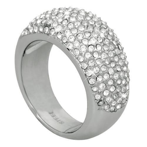 DKNY Luxusní prsten s krystaly NJ1561040 (Obvod 59 mm)