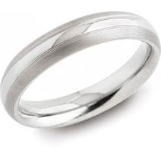 Boccia Titanium Snubný titánový prsteň 0131-01