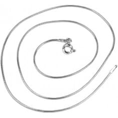 Silvego Strieborná retiazka hádok 1 mm 5060-09BG