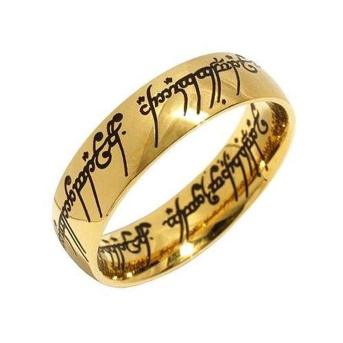 Silvego Prsten moci z filmu Pán prstenů RRC2210 (Obvod 52 mm)