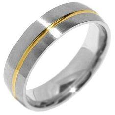 Silvego Snubný oceľový prsteň pre mužov PARIS RRC2048-M