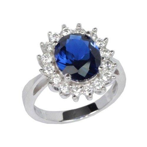 Silvego Stříbrný prsten princezny Kate TXR903091 (Obvod 57 mm)