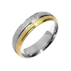 Silvego Snubný oceľový prsteň Flers RRC0365