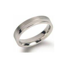 Boccia Titanium Snubný titánový prsteň 0129-01
