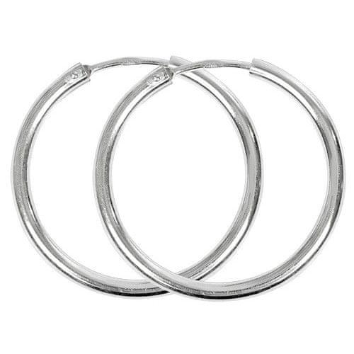 Troli Stříbrné náušnice kruhy 431 001 01004 04