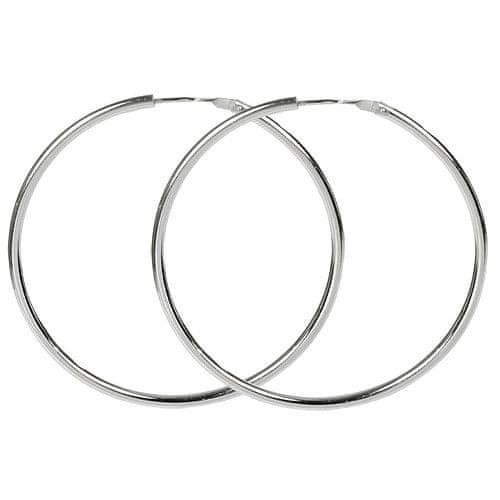 Troli Náušnice stříbrné kruhy 431 001 01008