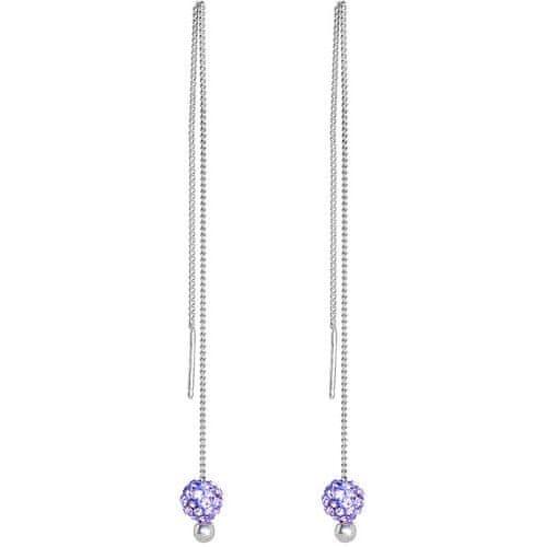 Preciosa Náušnice Digital Craft Violet 6806 56