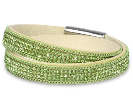 Troli Náramek Wrap Emerald