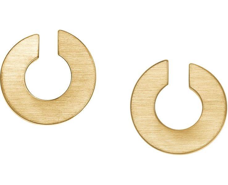 Skagen Exklusivní zlaté náušnice SKJ0621710