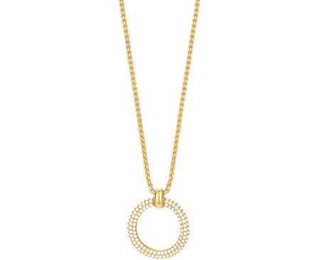 Esprit Pozlacený náhrdelník ESPRIT-JW50059 Gold