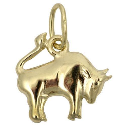 Brilio Zlatý přívěsek Býk 241 001 00811 - 0,35 g