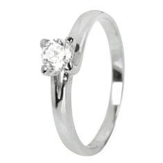 Brilio Dámsky prsteň s kryštálom 223 001 00090 07