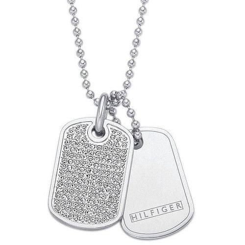 Tommy Hilfiger Ocelový náhrdelník Psí známky TH2700747