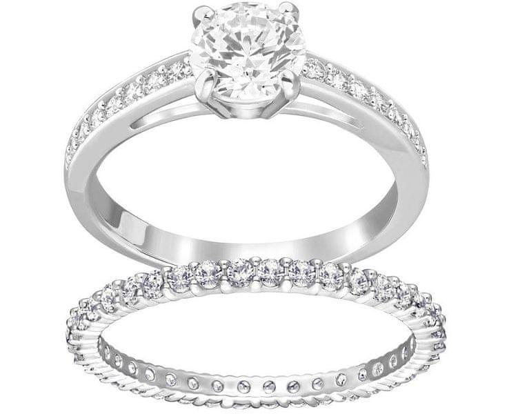 Swarovski Sada prstenů I Do 5184 (Obvod 58 mm)