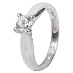 Troli Strieborný zásnubný prsteň 426 001 00401 04