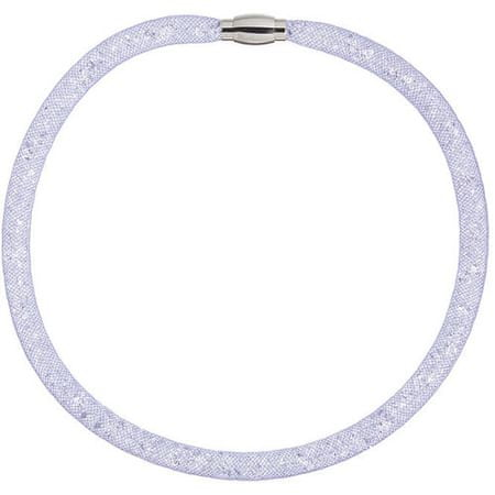 Preciosa Třpytivý náhrdelník Scarlette fialový 7250 56