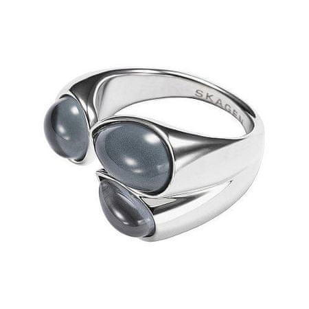 Skagen Módny oceľový prsteň SKJ0771040 (Obvod 53 mm)
