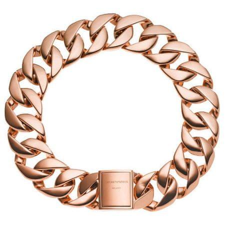 Emporio Armani Luxusná masívna náhrdelník EGS2041221