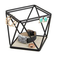 Umbra Organizér na šperky PRISMA čierny 299480040 / S