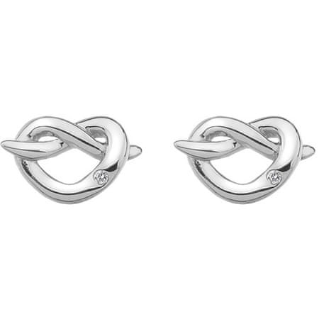 Hot Diamonds Strieborné náušnice Hot Diamonds Infinity Heart DE450