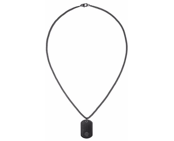 Tommy Hilfiger Černý náhrdelník TH2700693